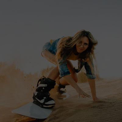 Le sandboarding